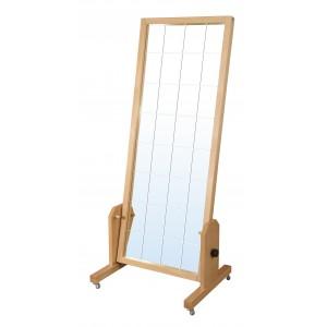 Корекційне дзеркало LT дерев'яне з нахилом