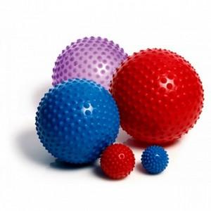 М'яч сенсоричний ABS 100cм рубіновий