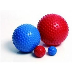 М'ячик сенсоричний senso 28см червоний/блакитний