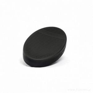 Тренажер балансу – чорний, наповнений повітрям
